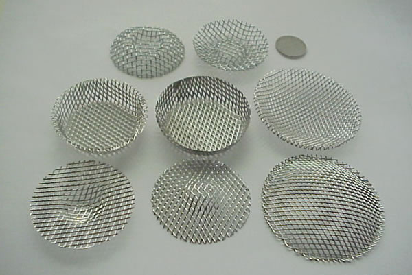 Pack Filters - Stainless Steel Wire Mesh or Brass Mesh Filter Discs