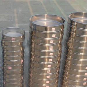 KimLab SS10 /Φ10cm Test Sieve #325 45/μm Mesh Size,304 Stainless Steel Wire Cloth and Frame,4 Diameter